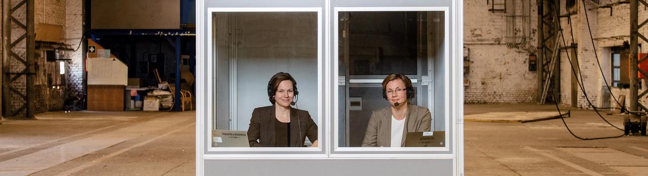 Konferenzdolmetscher NRW Andrea Wilming und Karin Walker: Konferenzdolmetschen, Konferenzberatung, Übersetzung, Protokollierung.
